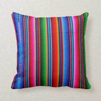 Textuur van Mexicaanse Stof Sierkussen