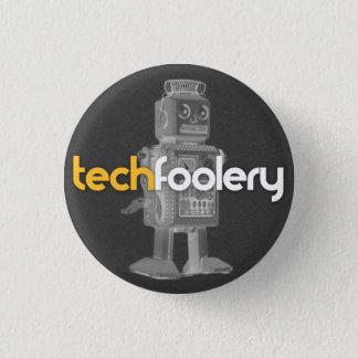TF het Logo van de Robot - Knopen Ronde Button 3,2 Cm