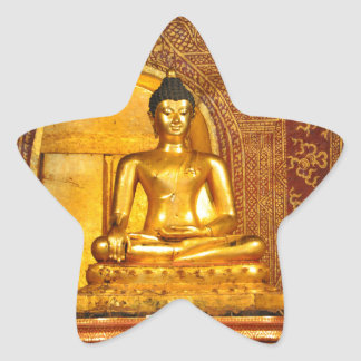 Thailand Boedha Ster Sticker