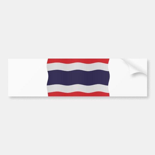 Thailand flag bumpersticker