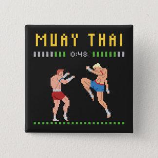 Thaise In dozen doen het met 8 bits Vierkante Button 5,1 Cm