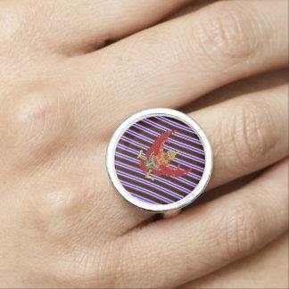 Thaise strepenvlag ringen