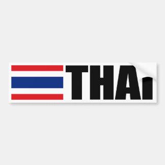 Thaise Vlag Bumpersticker