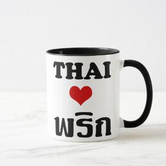 Thaise Voedsel ❤ het THAISE van de LIEFDE PHRIK Mok