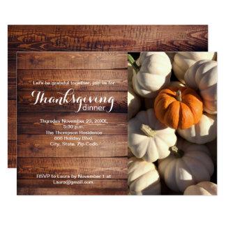 Thankgiving, Pompoen, Herfst Kaart