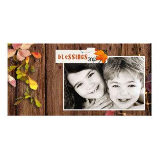 Thanksgiving Photcard Kaart
