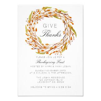 Thanksgiving | van het Nest van de herfst Kaart