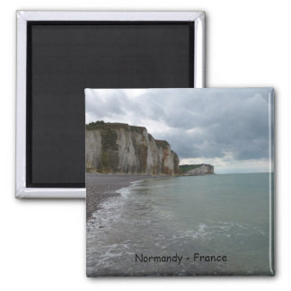 The Normandy coast in France - Les Petites Dalles Magneet