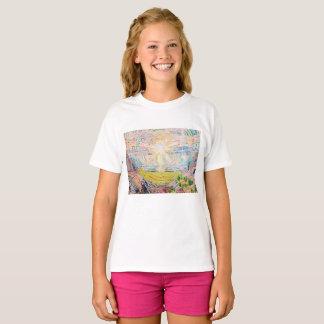 The Sun door Edvard Munch T Shirt