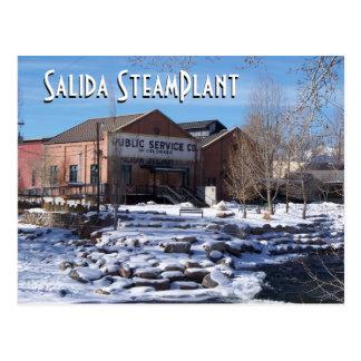 Theater en Centrum II van SteamPlant van de Briefkaart