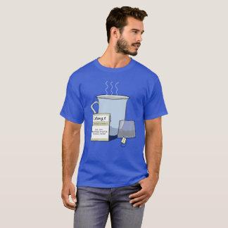 Thee, een Woordspeling van Nerd van de Computer T Shirt