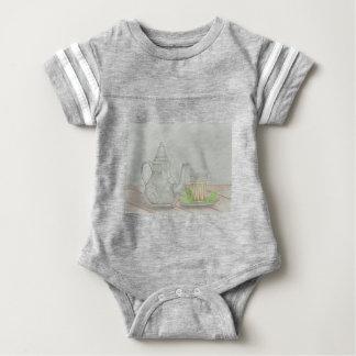 thee met munt baby bodysuit