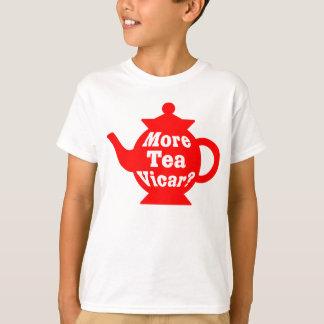 Theepot - Meer Predikant van de thee? - Rood en T Shirt