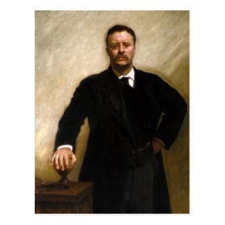 Theodore Roosevelt Briefkaart