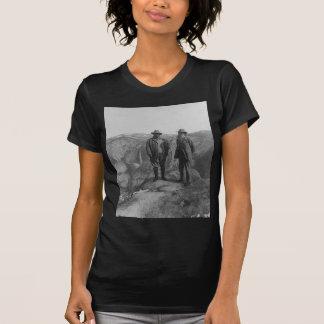 Theodore Roosevelt en John Muir op het Punt van de T Shirt