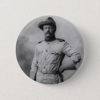 Theodore Roosevelt Ronde Button 5,7 Cm