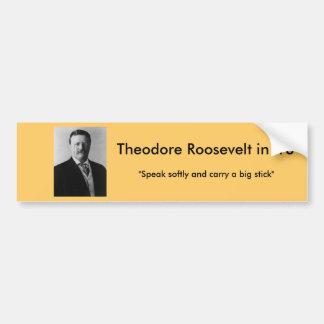 Theodore Roosevelt voor President Bumpersticker