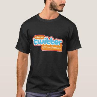TheTed, @YourUsername het Blauw van de Tjilpen T Shirt