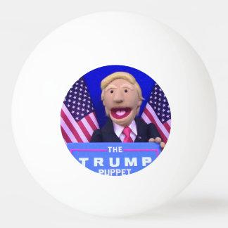 @TheTrumpPuppet de Witte Bal van de Pingpong Pingpongbal
