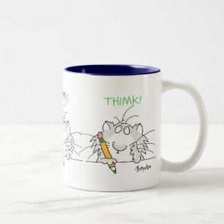 THIMK! door Boynton Tweekleurige Koffiemok