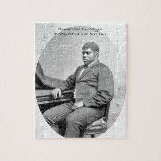 "Thomas ""Blinde Tom"" Wiggins, 1860 Puzzel"