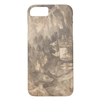 Thomas Gainsborough - Bebost Landschap iPhone 7 Hoesje