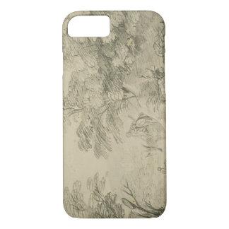 Thomas Gainsborough - Bebost Landschap met Ezel iPhone 7 Hoesje