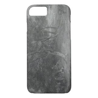 Thomas Gainsborough - Bebost Landschap met iPhone 7 Hoesje