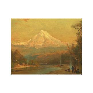 Thomas Hill - Indiërs van het Noordwesten Canvas Print