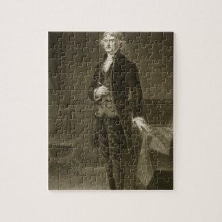 Thomas Jefferson, 3de President van Verenigde Stat Legpuzzel