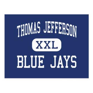 Thomas Jefferson Blue Jays Middle Eugene Briefkaart