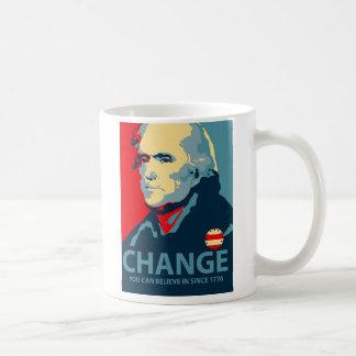 Thomas Jefferson Change Koffiemok