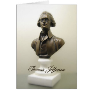 Thomas Jefferson Freedom Quote Briefkaarten 0