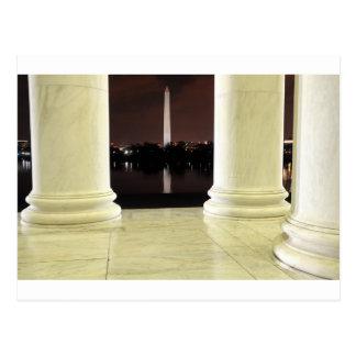 Thomas Jefferson Memorial At Night Briefkaart