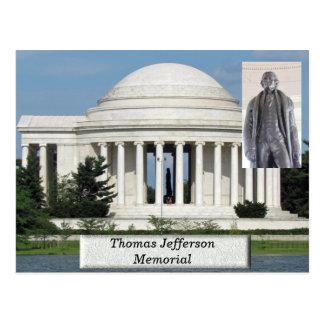 Thomas Jefferson Memorial - briefkaart
