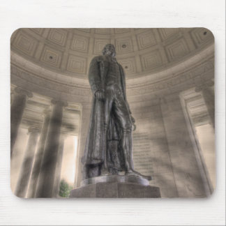 Thomas Jefferson Memorial Bronze Statue Muismatten