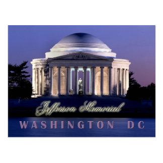 Thomas Jefferson Memorial, Washington, D.C. Briefkaart