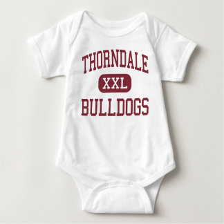 Thorndale - Buldoggen - Oudste - Thorndale Texas Romper