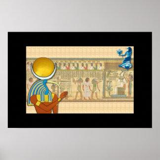 Thoth - Lord van Wijsheid Poster