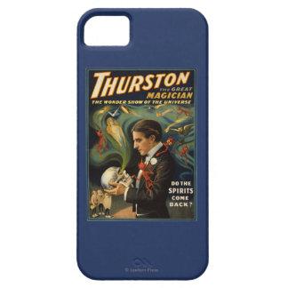 Thurston de Grote Magische Schedel van de Holding Barely There iPhone 5 Hoesje