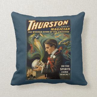 Thurston de Grote Magische Schedel van de Holding Sierkussen