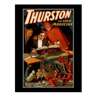 Thurston de grote tovenaar briefkaart