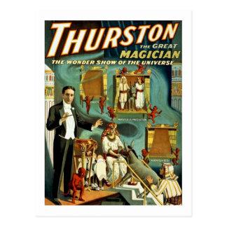 Thurston de Tovenaar - Wonder toont Briefkaart