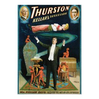 Thurston, de vintage Tovenaar van de Opvolger Kaart