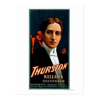Thurston, Duivel die hem Magische geheimen Briefkaart