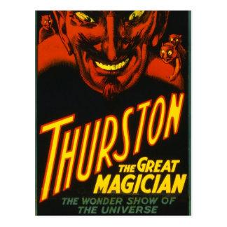 Thurston Groot! Briefkaart