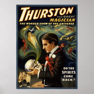 Thurston grote tovenaar 2 poster