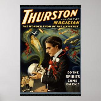 Thurston Poster 36 x 24 van de Heruitgave van de