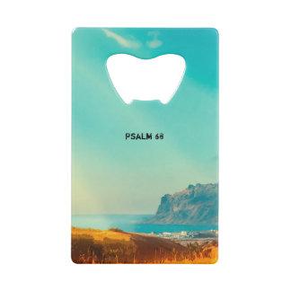 Thy God hath beval thy sterkte Creditkaart Flessenopener