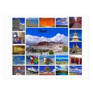 Tibet Multiview Briefkaart